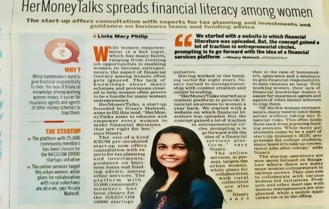 financial literacy among women